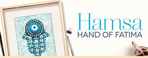 Hamsa Hand of Fatima Collection