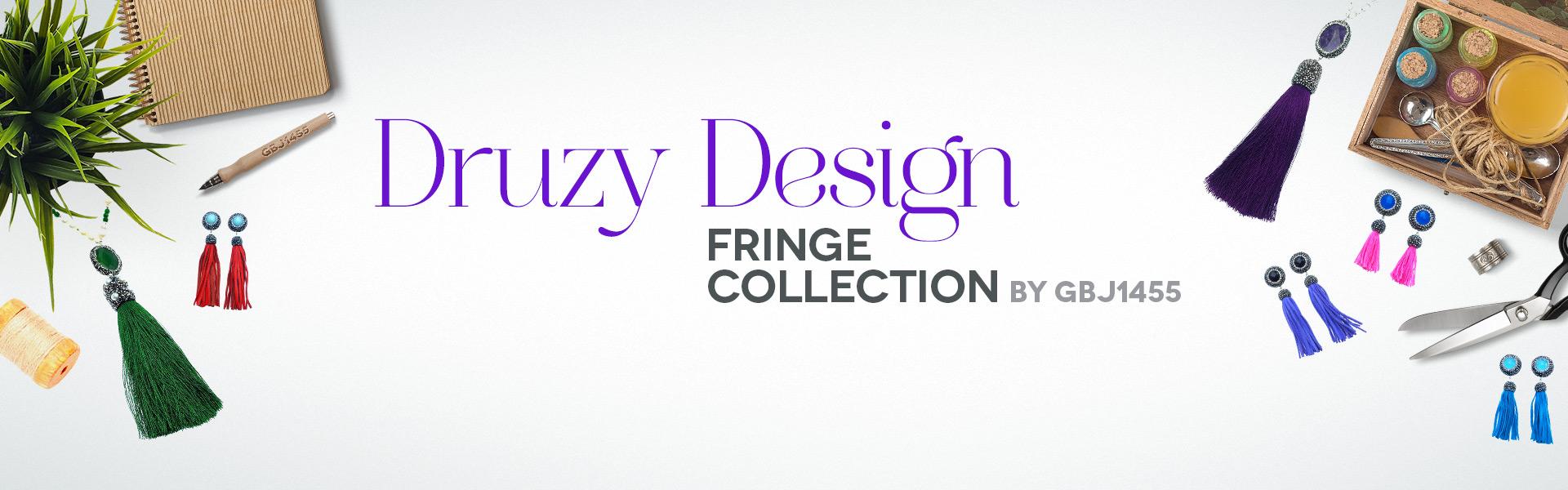 Druzy Design Fringe Collection
