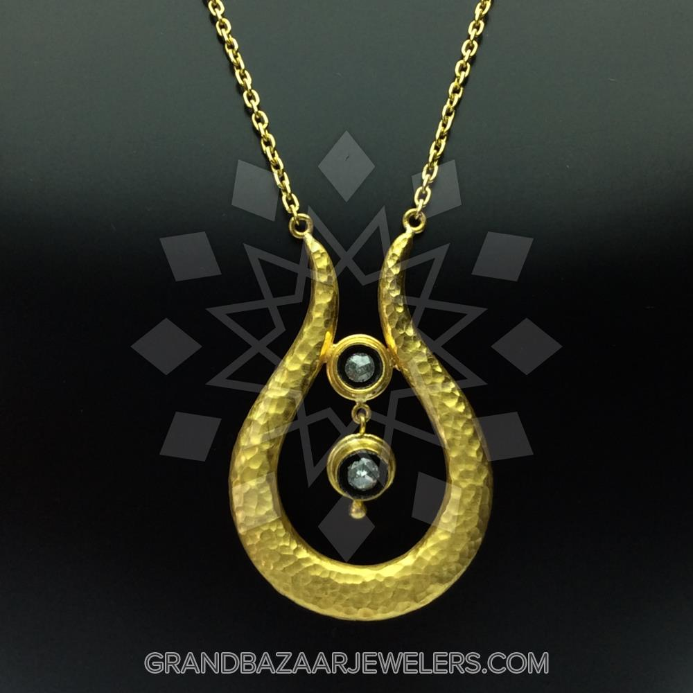 24 Karat Gold Necklace GBJ296NC26909