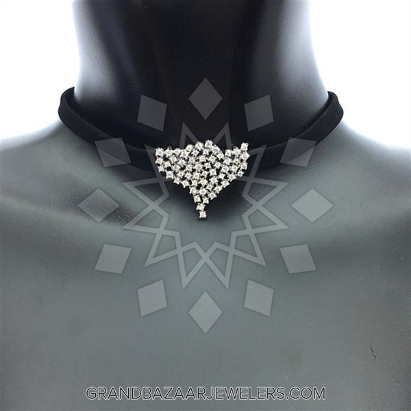 925 Silver Designer Choker Necklace