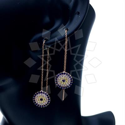 925 Silver Evil Eye Earrings