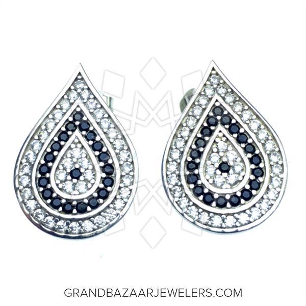925 Silver Evil Eye Earrings