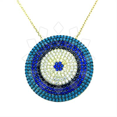 925 Silver Evil Eye Necklace