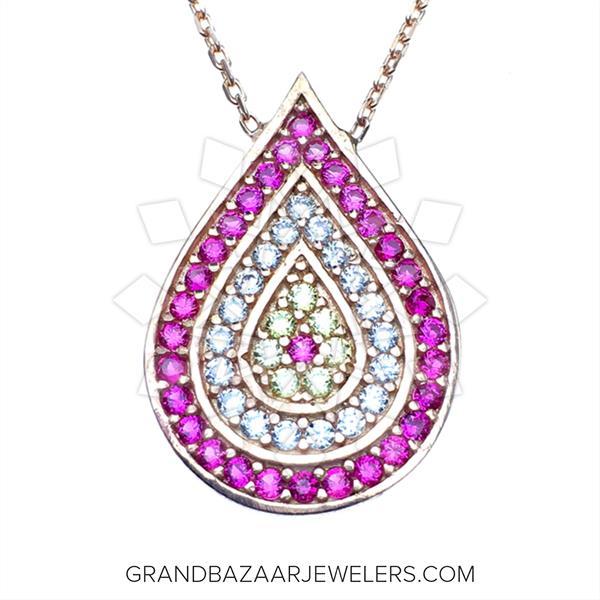 925 Silver Evil Eye Necklace
