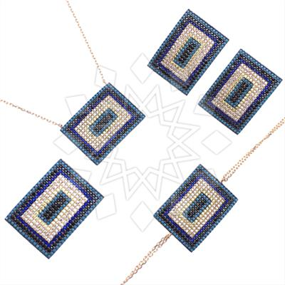 925 Silver Geometric Design Sets