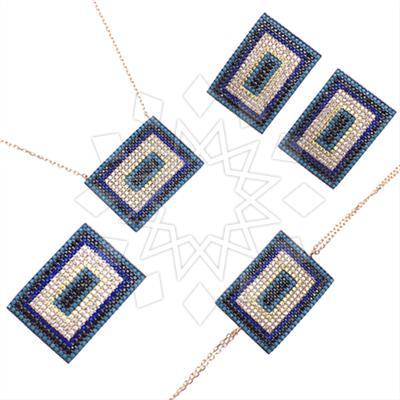 925 Silver Geometric Design Sets