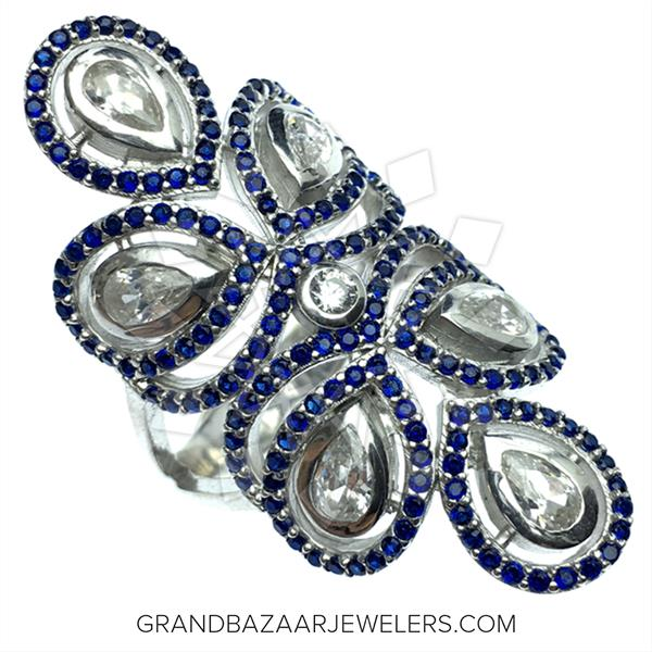 925 Silver Statement Rings