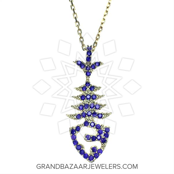 925 Silver Animal Instinct Necklace