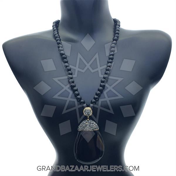 Agate Slice Druzy Necklace