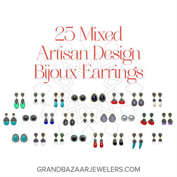 Artisan Design Bijoux Earrings 25 Mixed
