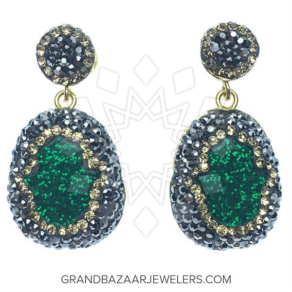 Hand of Fatima Fashion Bijou Earrings
