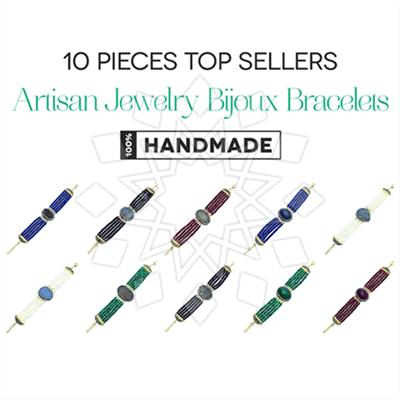 Artisan Jewelry Bijoux Bracelets 10 Mixed