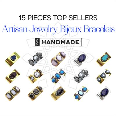 Artisan Jewelry Bijoux Bracelets 15 Mixed