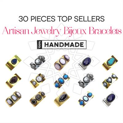 Artisan Jewelry Bijoux Bracelets 30 Mixed