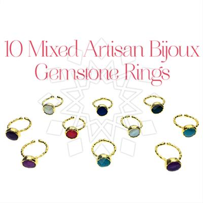 Artisan Jewelry Bijoux Rings 10 Mixed