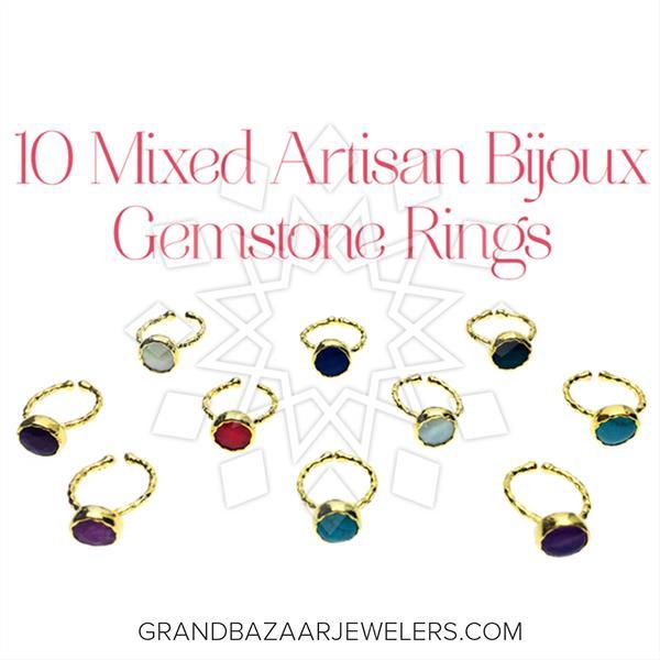 Artisan Jewelry Bijoux Rings 10 Mixed