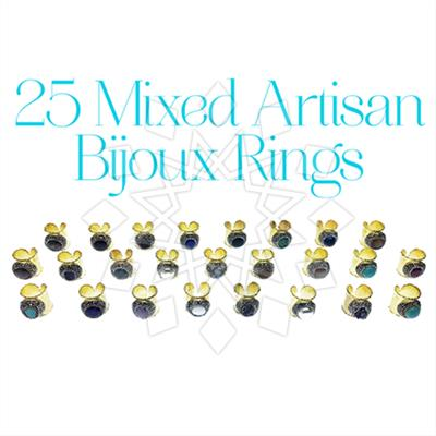 Artisan Jewelry Bijoux Rings 25 Mixed