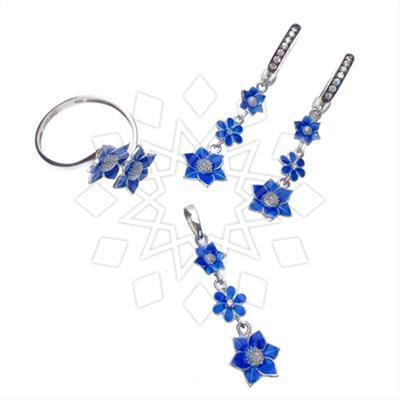 Artistic Enamel Jewelry Sets