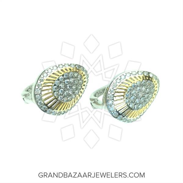 Designer Pave Earrings