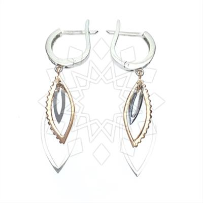Classic 925 Sterling Silver Earrings
