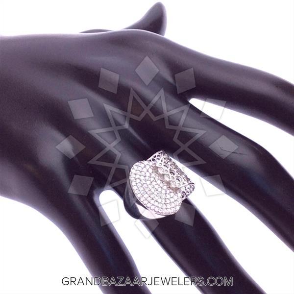 Designer Pave Rings
