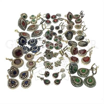Vintage Antique Turkish Jewelry Mixed Sets
