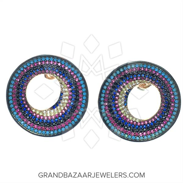 Colorful Rainbow Earrings
