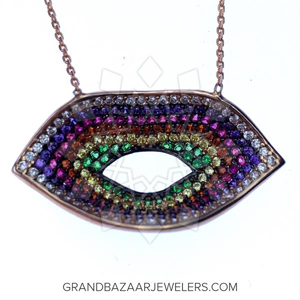 Colorful Rainbow Necklace