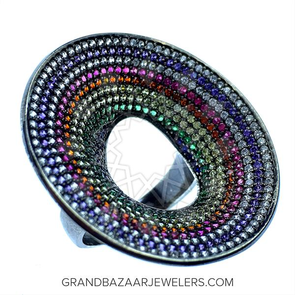 Colorful Rainbow Rings