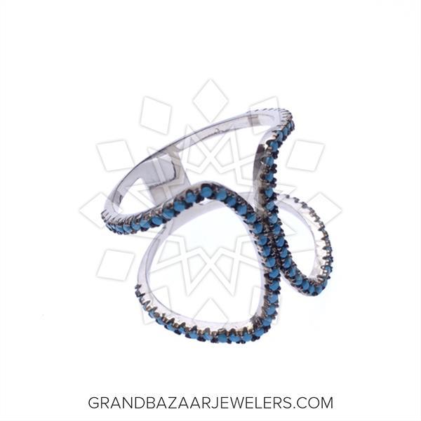 925 Silver Geometric Design Rings