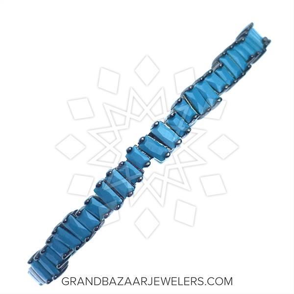 Designer Baguette 925 Silver Bracelets