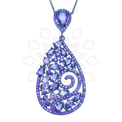 Designer Silver Jewelry Statement Pendant