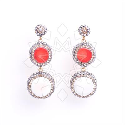 Double Drop Gems and Crystal Natural Gemstones