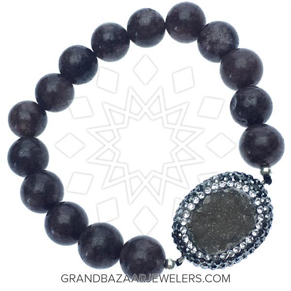 Druzy Raw Crystal Gemstone Bracelets