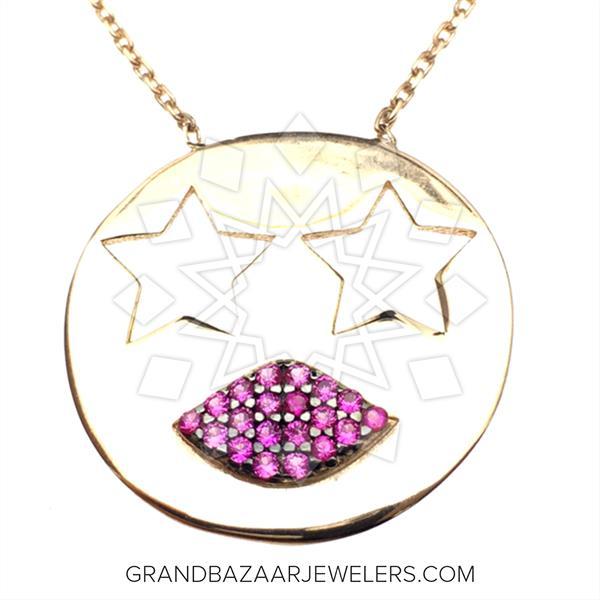 Emoji 925 Sterling Silver Necklace