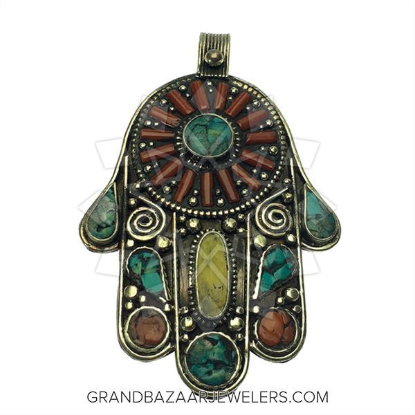 Ethnic Tribal Design Pendant