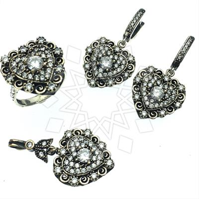 Vintage Antique Turkish Jewelry Sets