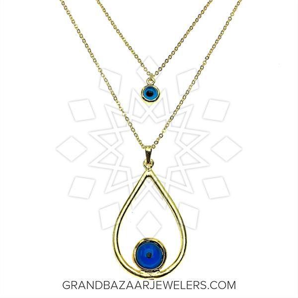 Evil Eye Fashion Jewelry Bijou Necklace