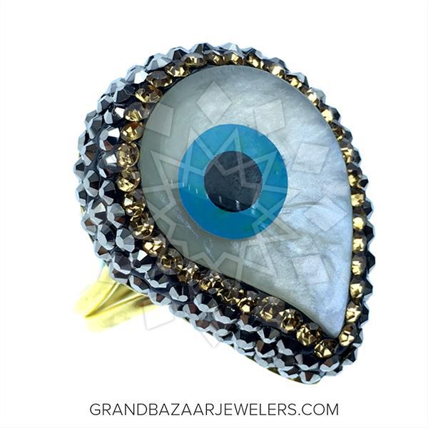 Evil Eye Fashion Jewelry Bijou Rings