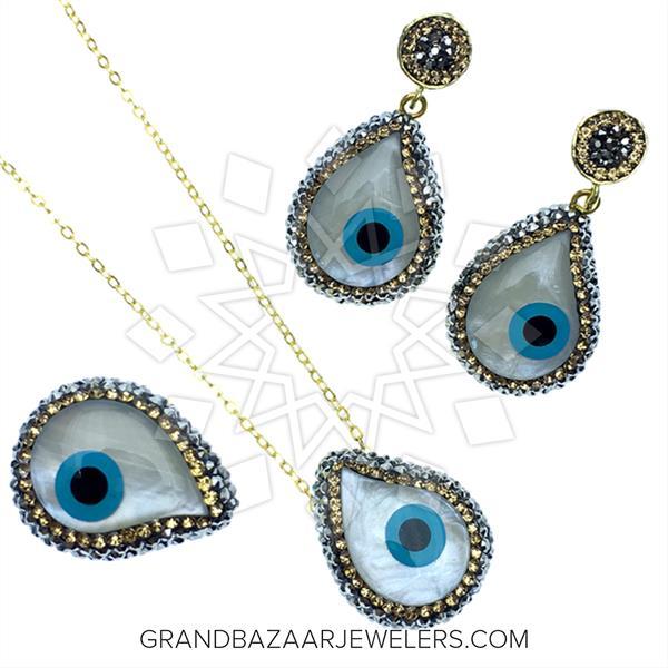 Evil Eye Fashion Jewelry Bijou Sets