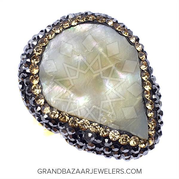 Gem and Crystal Artisan Silver Rings