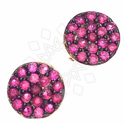925 Silver Geometric Design Earrings