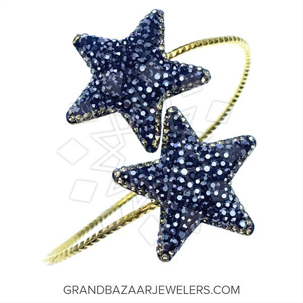 Geometric Druzy Jewelry Bracelets
