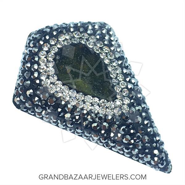 Geometric Druzy Jewelry Rings