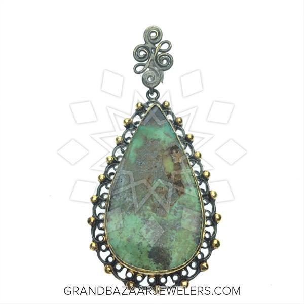 Grand Bazaar Artisan Silver Pendant
