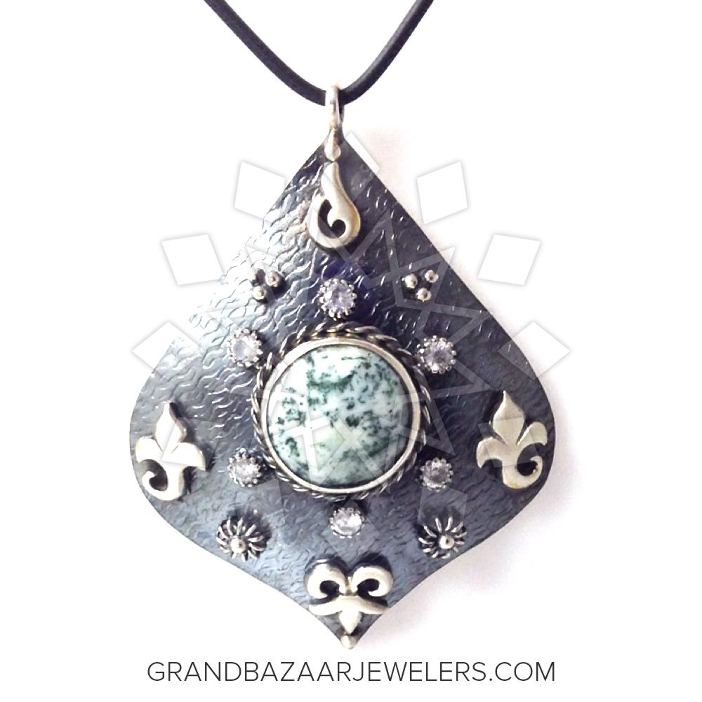 Grand Bazaar Turkish Silver Pendant