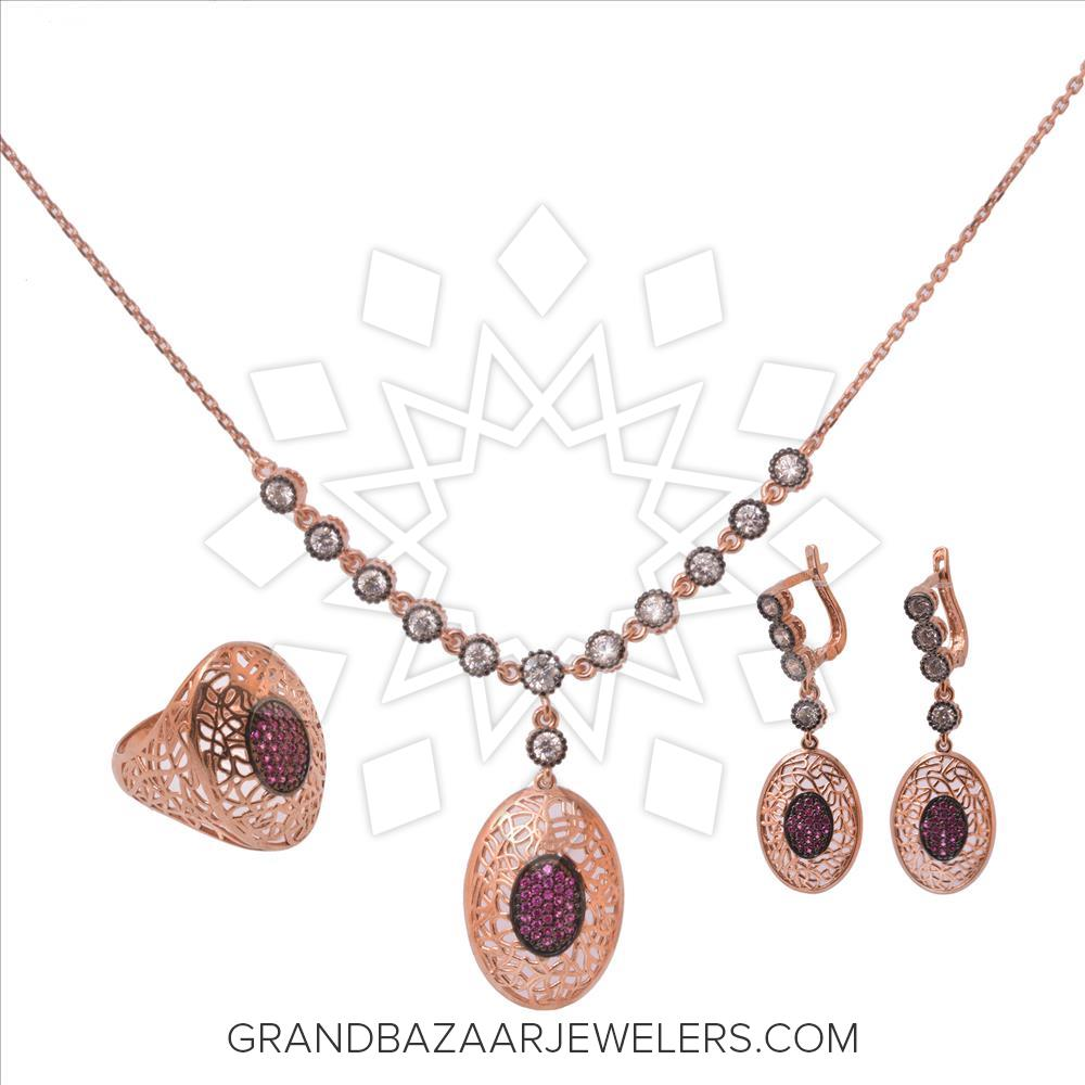 Grand Bazaar Color Gem Silver Sets