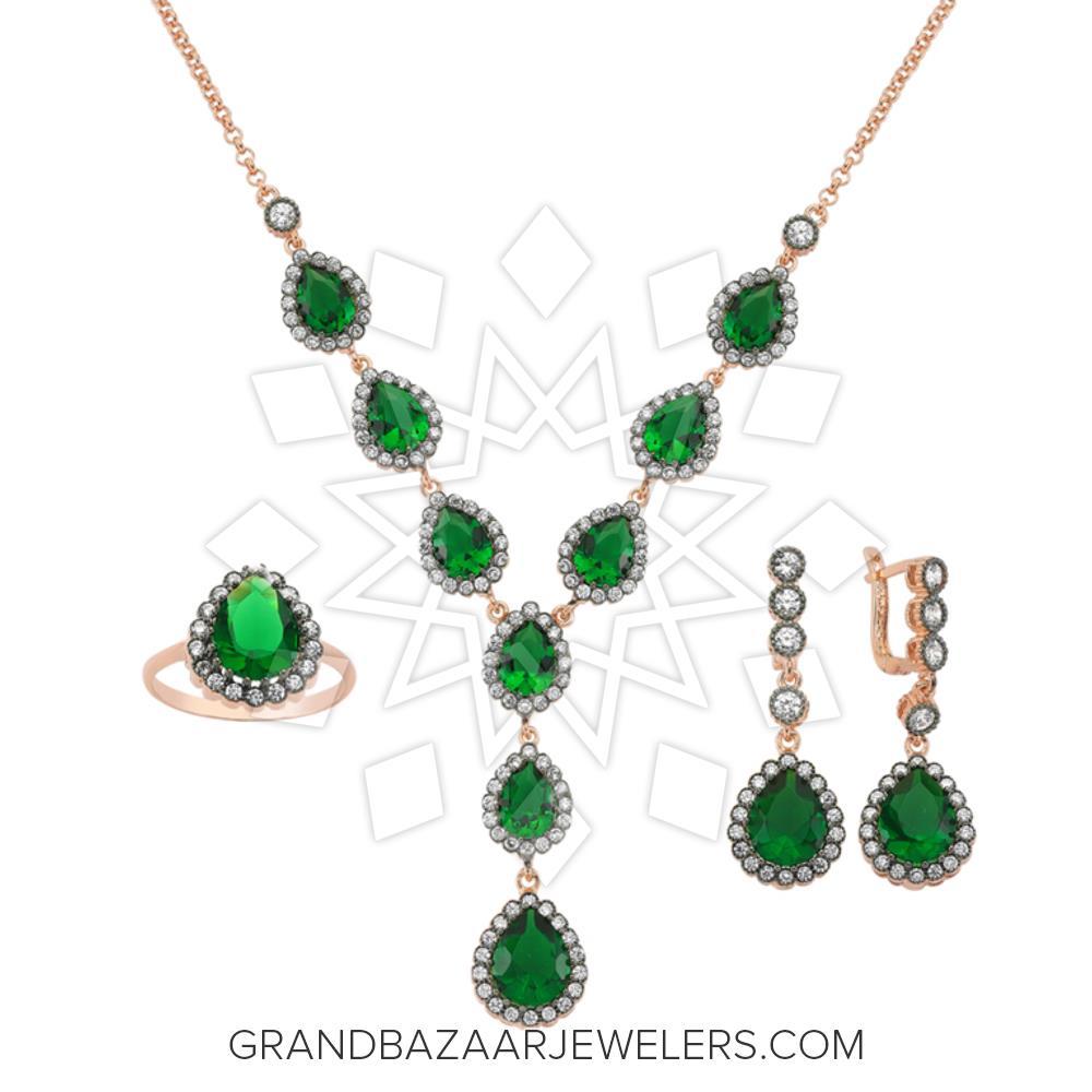 Grand Bazaar Color Gem Silver Sets