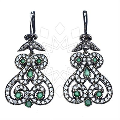 Grand Bazaar Turkish Silver Earrings