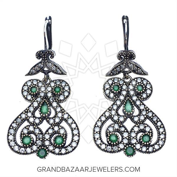 Grand Bazaar Turkish Silver Earrings